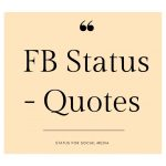 FB Status - Quotes by Status For Social Media