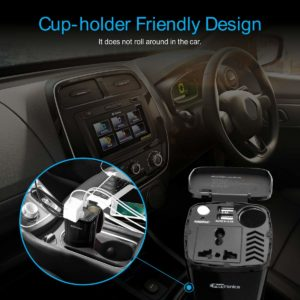 portronics CarPower - car Inverter, christmas gifts
