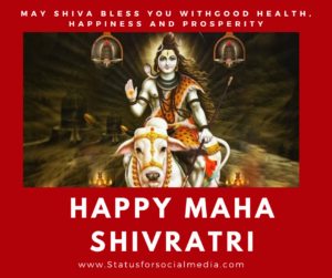 Happy Maha Shivratri Messages and Images