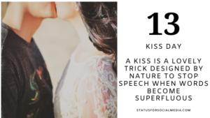 Happy Kiss Day 2021