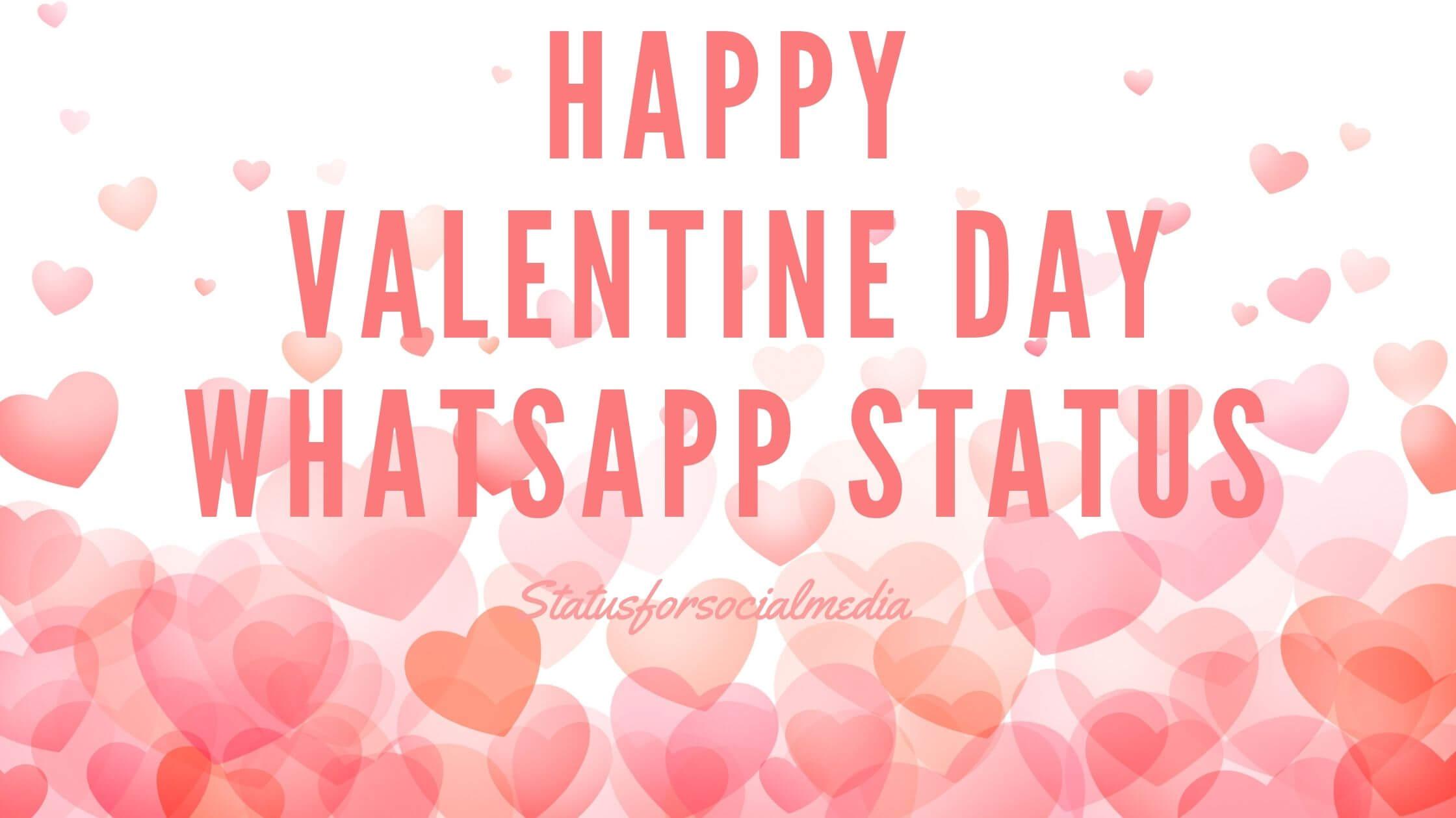 Happy Valentine Day WhatsApp Status Video