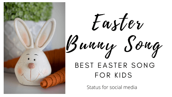 Easter Bunny Song for Kids, easter bunny song lyrics, bunny hop song, Best Easter Song for Kids, the kiboomers b-u-n-n-y - SFSM