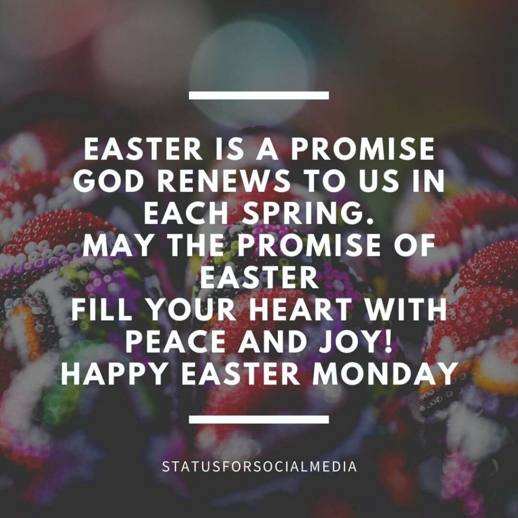 Easter Monday Greeting