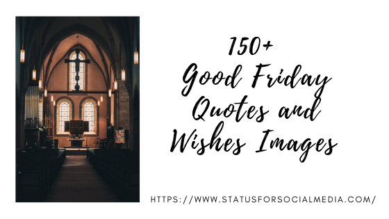 Good Friday Quotes and Wishes Images
