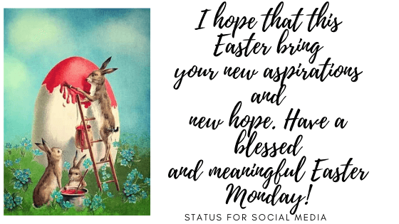 Easter Monday 2020 Messages, religious easter messages, easter Monday wishes for family and friends
