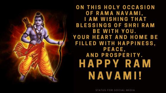 happy ram navami wishes photo download