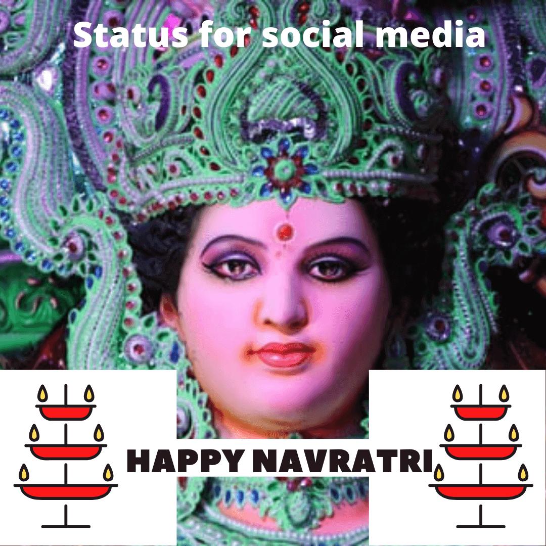 चैत्र नवरात्रि Status