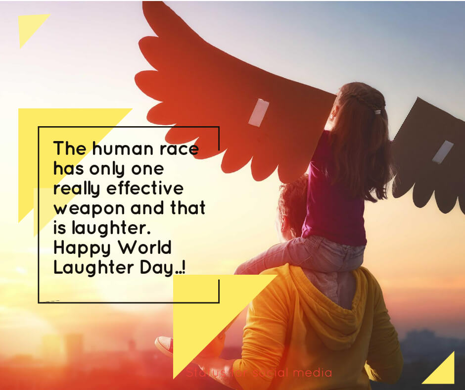 World Laughter Day Quotes and Images