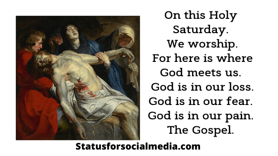 holy saturday images