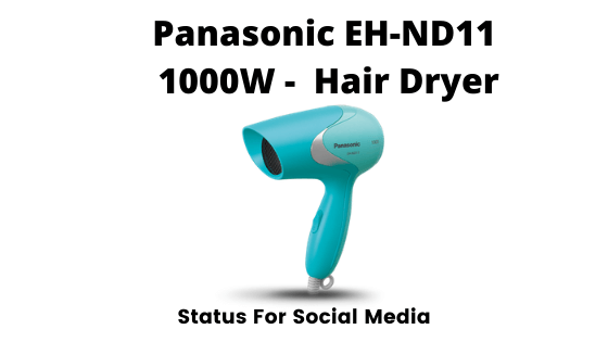 Panasonic EH-ND11  1000W -  Hair Dryer - Best Hair Dryers In India 2020