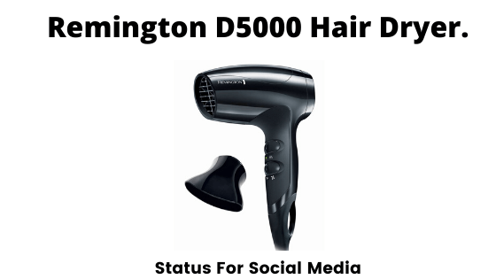 Remington D5000 Hair Dryer, Best Hair Dryers In India 2020