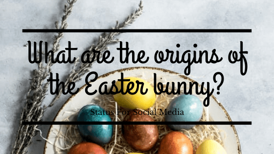 What are the origins of the Easter bunny?