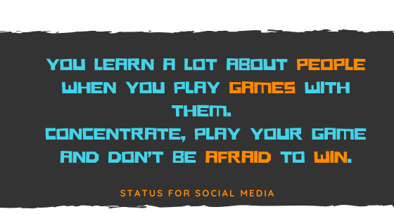 best status for gamers, gaming attitude quotes, gamers status,  STATUS FOR SOCIAL MEDIA -SFSM