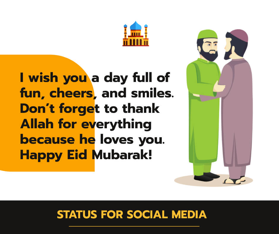 eid mubarak message to colleagues