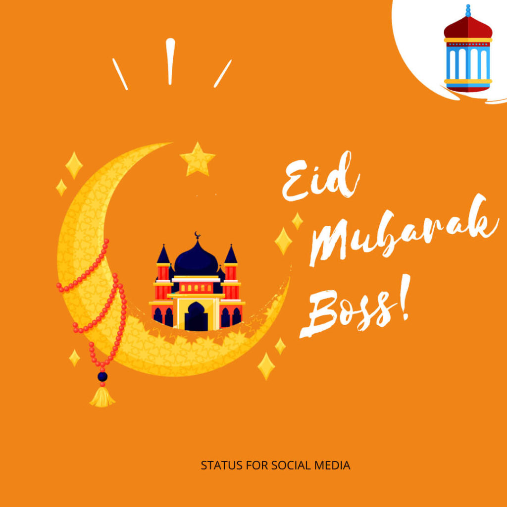 Eid Mubarak for Boss