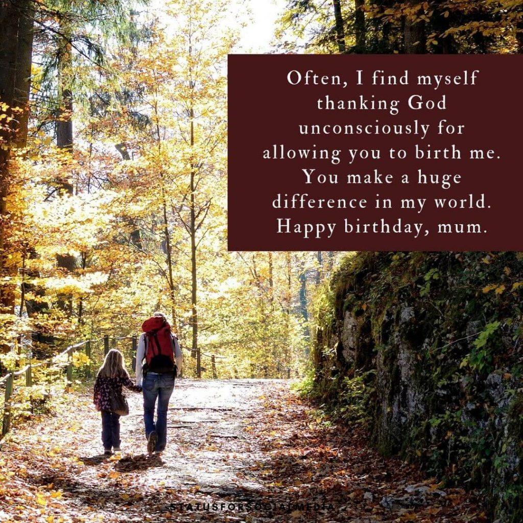 Deep Birthday Wishes For Mom SFSM
