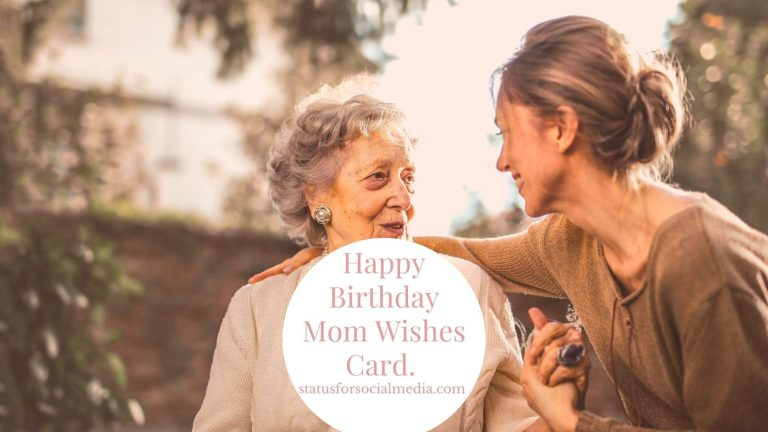 Happy Birthday Mom Wishes - STATUSFORSOCIALMEDIA