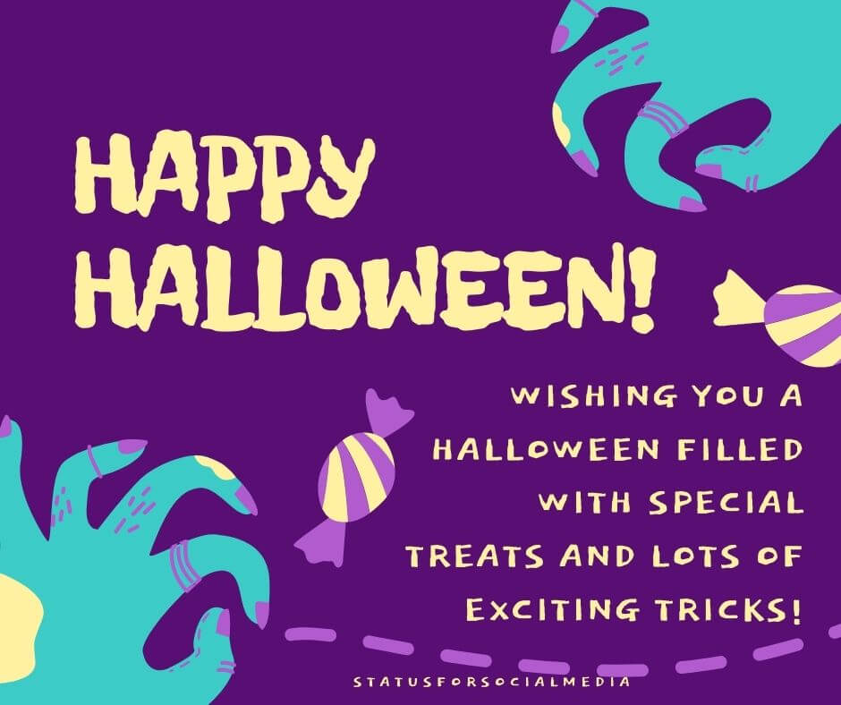 Happy Halloween STATUSFORSOCIALMEDIA
