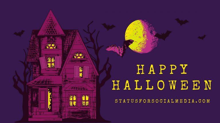 Happy Halloween - Statusforsocialmedia.com