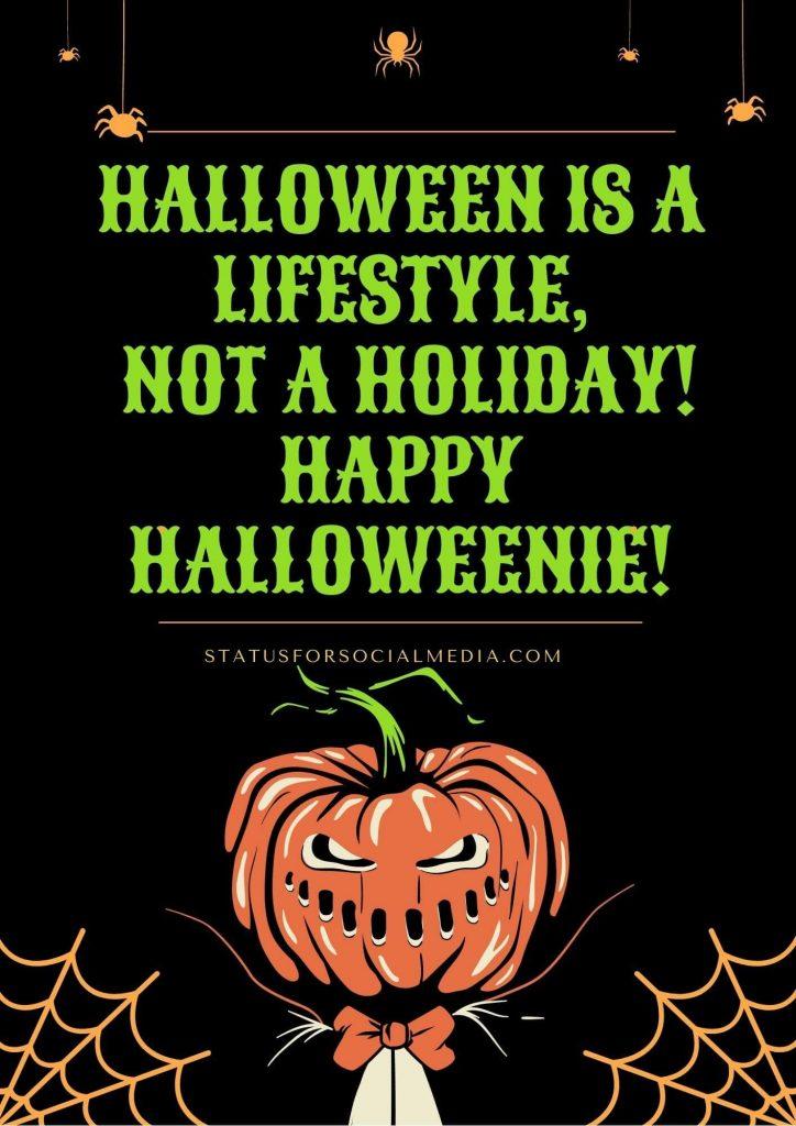 Statusforsocialmedia Pumpkin Monster Vintage Horror Halloween Flyer