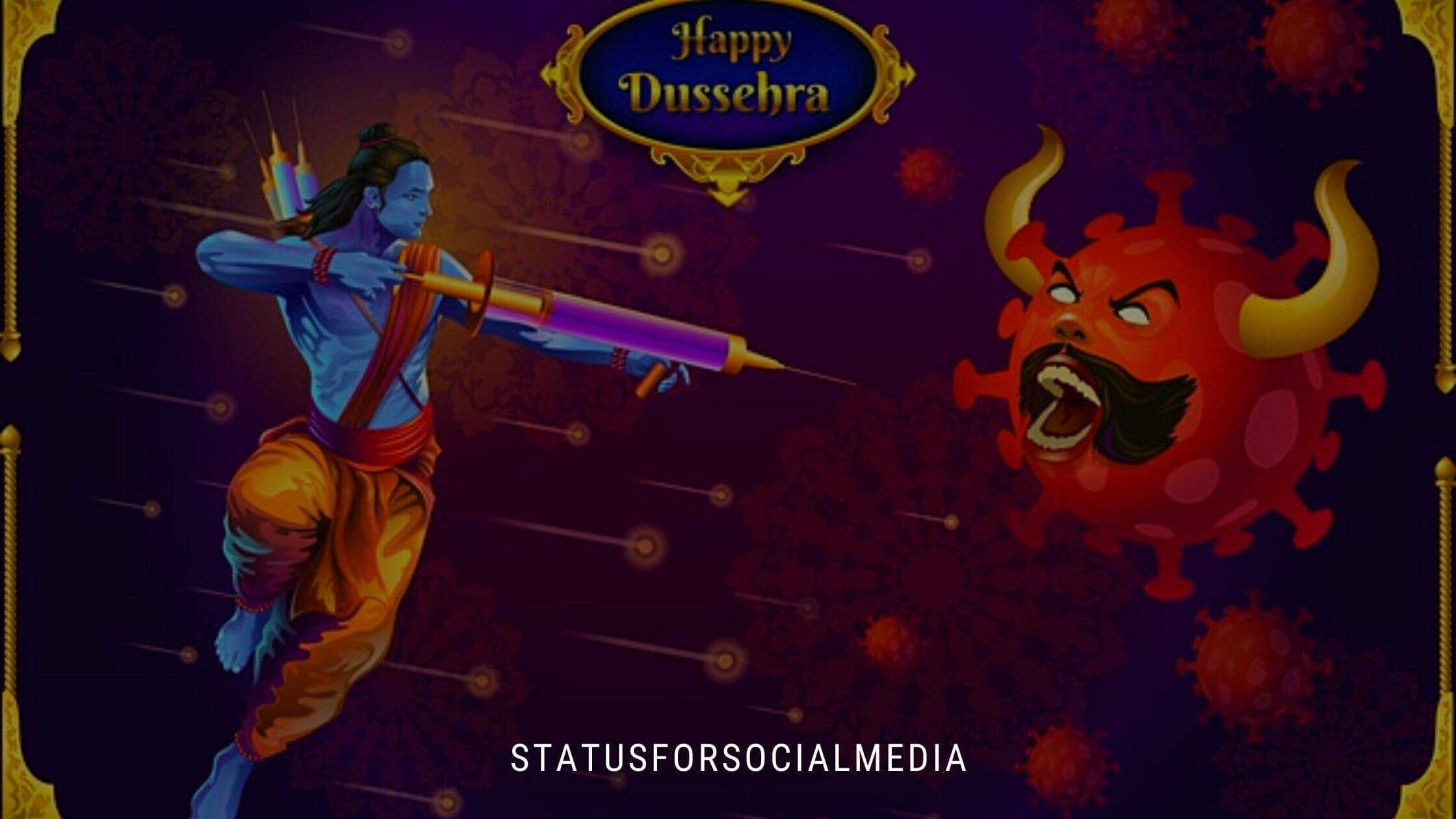 Unique Happy Dussehra Wishes And Quotes statusforsocialmedia