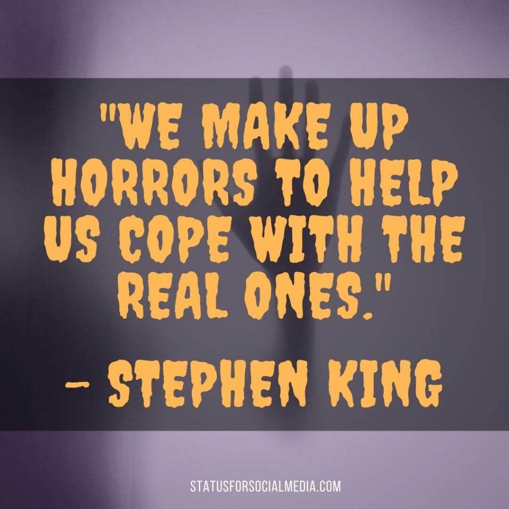 statusforsocialmedia Spookiest Quotes About Halloween