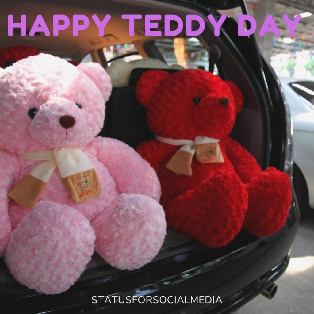 Teddy Day Messages For Girlfriend