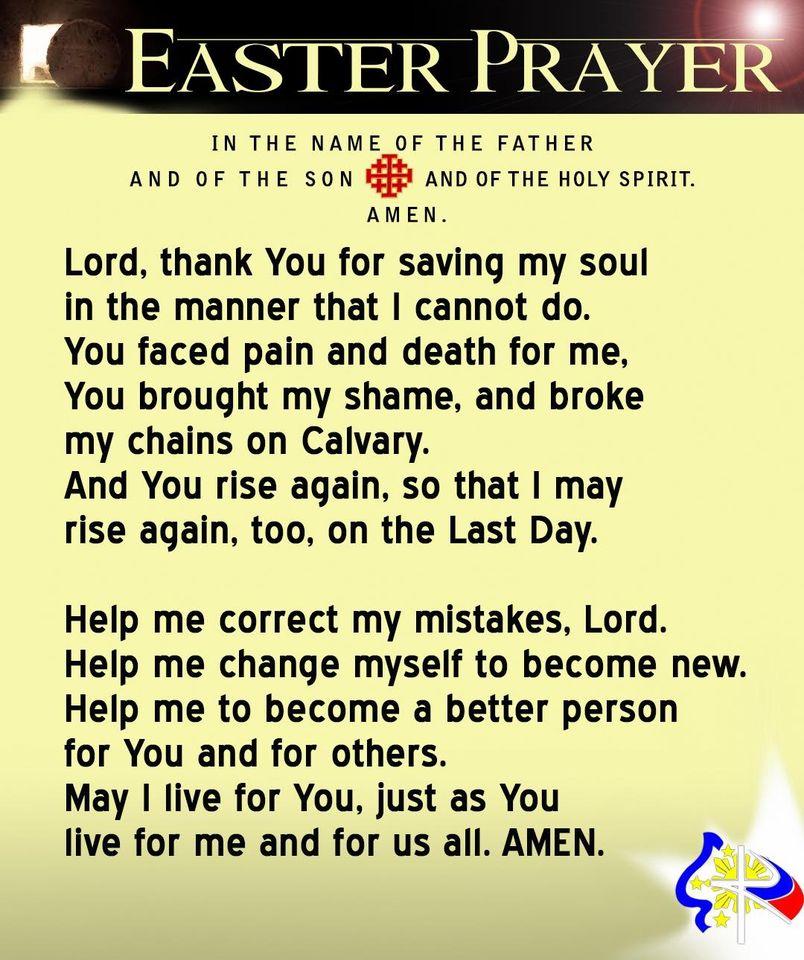 EASTER-PRAYER