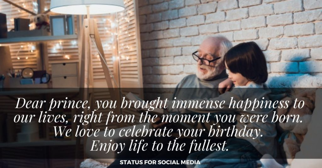 GRANDSON BIRTHDAY WISHES FOR FACEBOOK