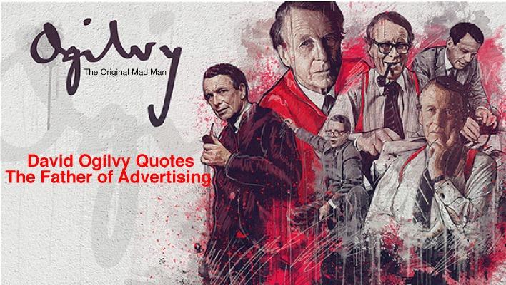 David Ogilvy quotes for advertising