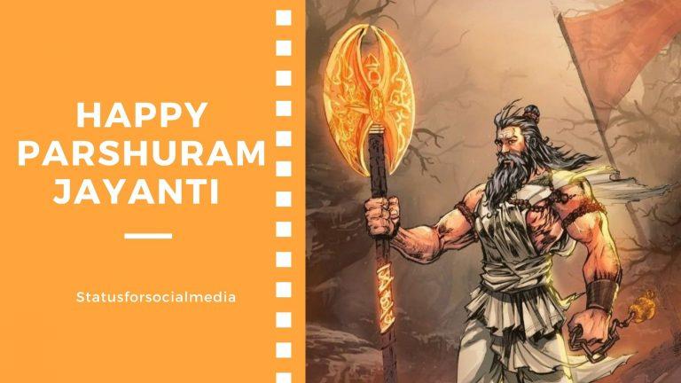 Happy Parshuram Jayanti WhatsApp Status - sfsm