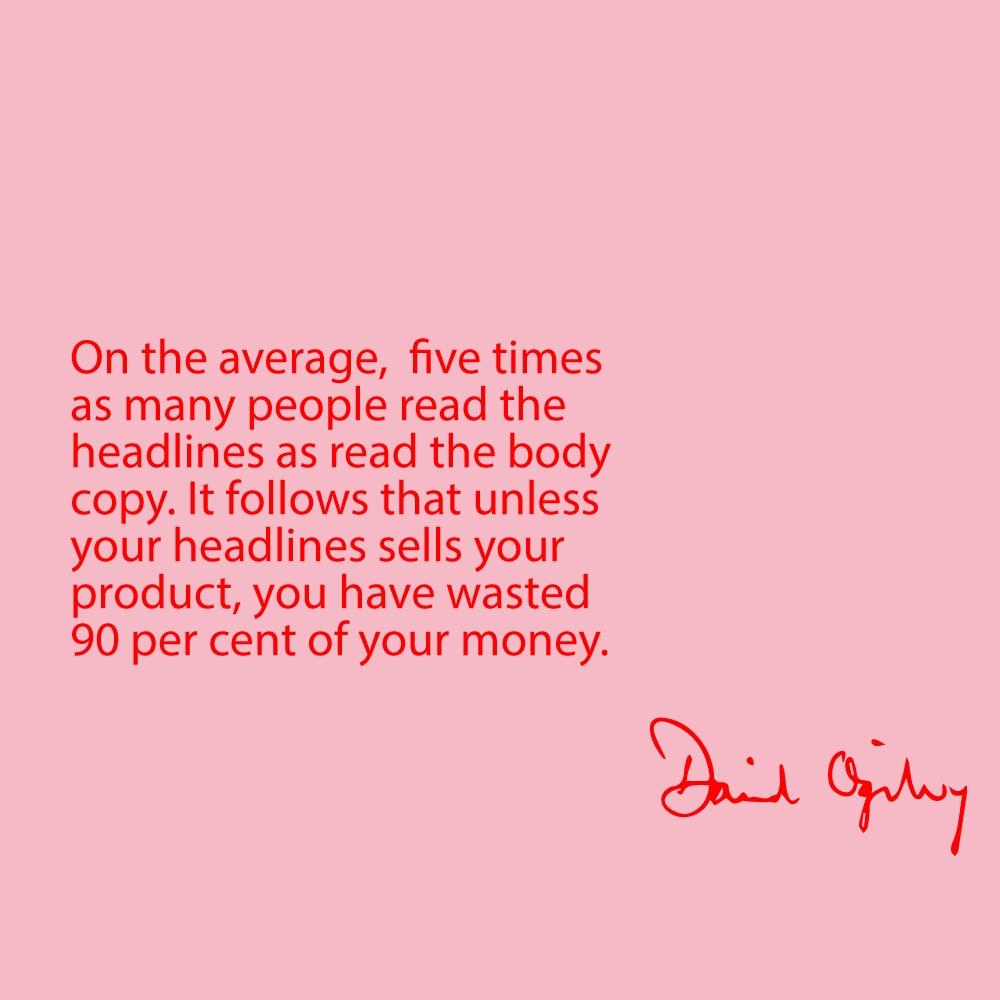 Inspiring David Ogilvy Quotes