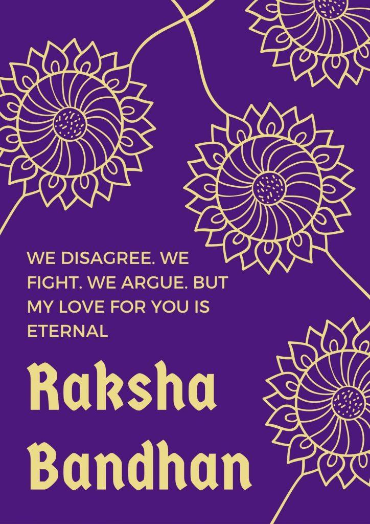 Raksha Bandhan Caption For Instagram - status for social media