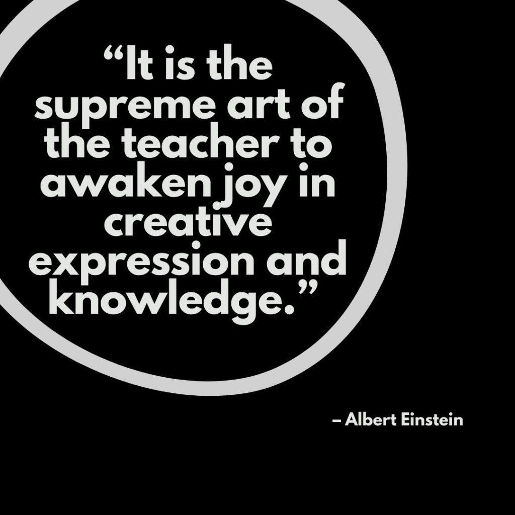 Teachers day quotes – Albert Einstein